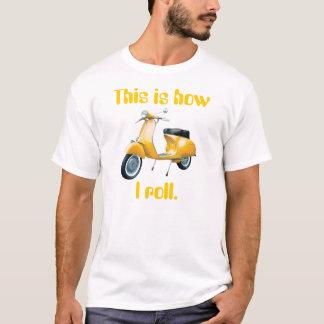Autoped, zo rol ik t shirt