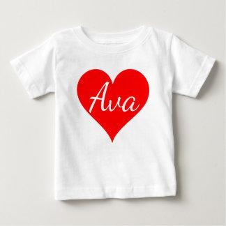 """""""AVA """" BABY T SHIRTS"""