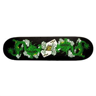 Avatar het Groene Skateboard van Draken