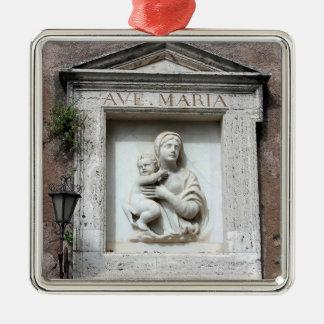 Ave Maria Christmas Ornament
