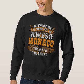 Aweso MONACO een Ware het Leven Legende Trui