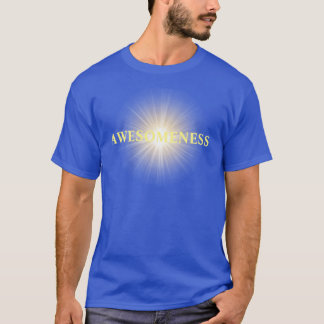 Awesomeness over zonnestraal t shirt
