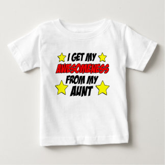 Awesomeness van Tante Baby T Shirts