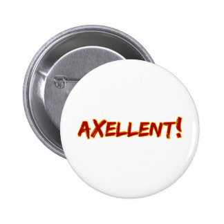 Axellent! Ronde Button 5,7 Cm