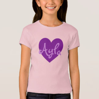 Ayla in Paars T Shirt
