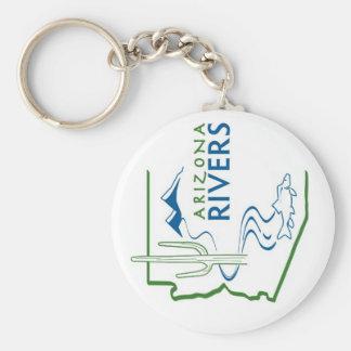 AZ het Logo Keychain van de Rivier Sleutelhanger