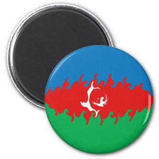 Azerbaijan Gnarly Vlag Magneet