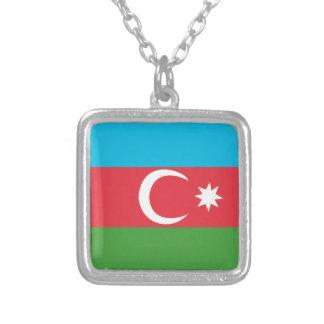Azerbaijao Ketting Vierkant Hangertje
