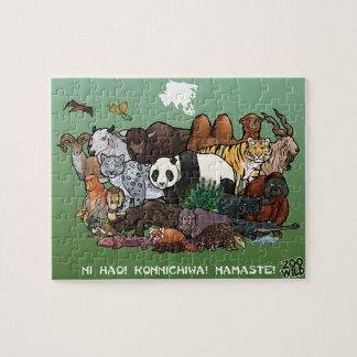 Aziatische Dieren - Puzzel Puzzel