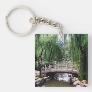 Aziatische Tuin 1 Sleutelhanger