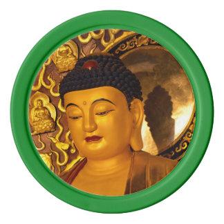 Azië Gouden Boedha Pokerchips