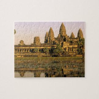 Azië, Kambodja, Siem oogst. Angkor Wat. Legpuzzel