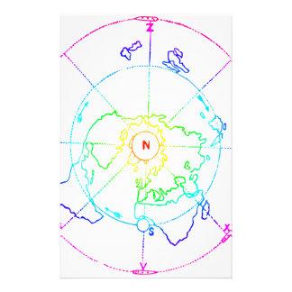 Azimutale Equidistante Onderzoekende Kaart