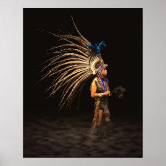 Azteekse Danser Poster