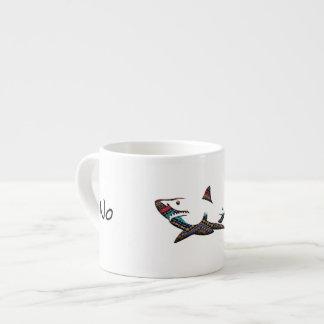 Azteekse Haai Espresso Kop