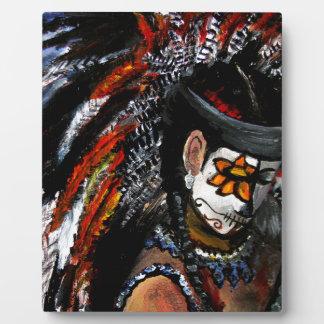 Azteekse viering fotoplaat