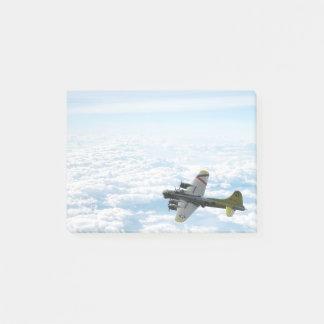B17 het Vliegende Vliegtuig van de Bommenwerper Post-it® Notes