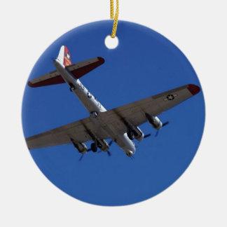 B-17 ROND KERAMISCH ORNAMENT