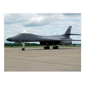 B-1B de Bommenwerper van de Lansier op Grond Briefkaart