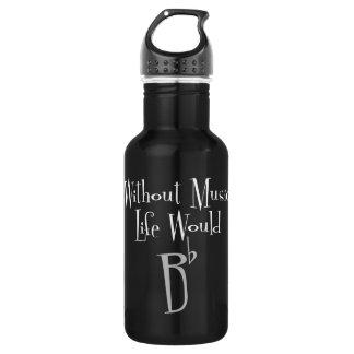 B de Vlakke Donkere Fles van het Water