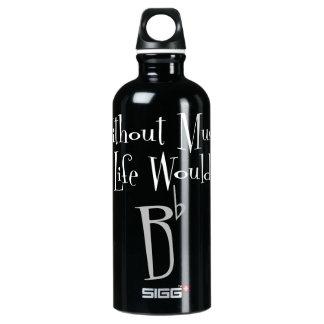 B de Vlakke Donkere Fles van het Water Sigg