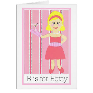 B is voor Betty Kaart