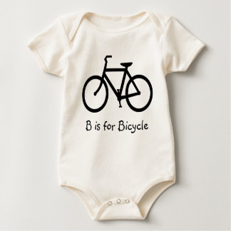B is voor Fiets Baby Shirt
