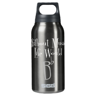 B Vlakke Donkere Hete & Koude Fles Sigg