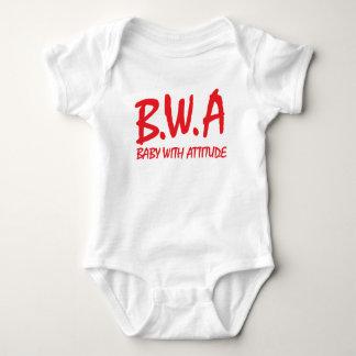 B.W.A. Baby met het Ontwerp van de T-shirt van de