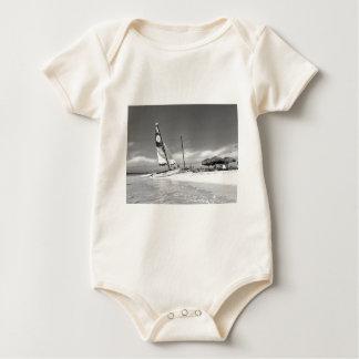 B&W het Strand van Havana Baby Shirt