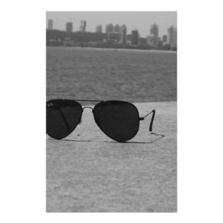 B&W zonnebril & Mumbai Briefpapier
