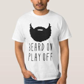 Baard op Spel van het T-shirt van de Baard van de