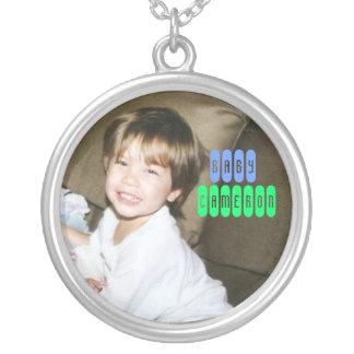 baby Cameron quiseng Zilver Vergulden Ketting