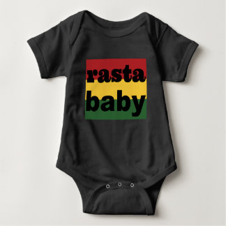 Baby die de Ééndelige Zwarte van het Baby kleden Romper