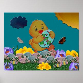 Baby Elegante Pasen Poster