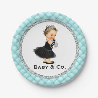 Baby en de Borden van het Document van het Baby Papieren Bordjes