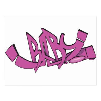 Baby Graffiti Briefkaart