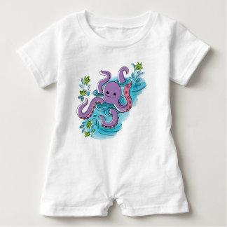 ` baby het maximum' olijf-de-Octopus Kruippakje Romper