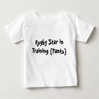 Baby/het Overhemd van het Rugby van de Peuter Baby T Shirts