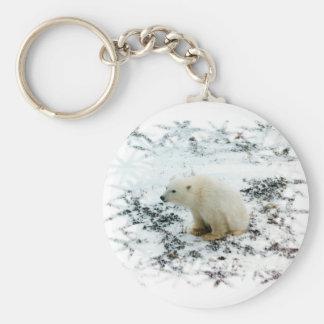 baby ijsbeer keychain sleutelhanger