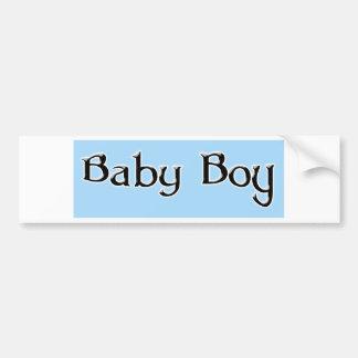Baby-jongen-logo Bumpersticker