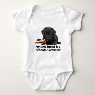 "Baby-lichaam ""Labrador "" Romper"