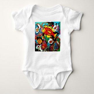Baby romper ( Stijl Jersey romper)