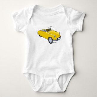 baby rompertje met afbeelding Citroën DS trapauto