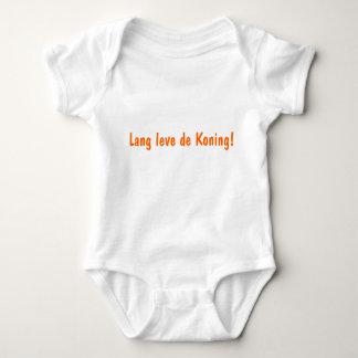 Baby rompertje met tekst 'Lang leve de Koning'