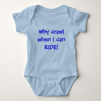 Baby Ruiter Romper