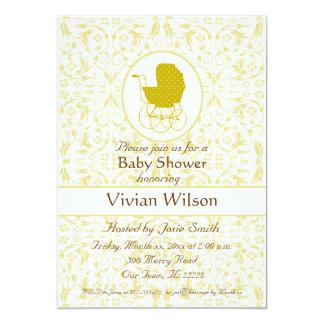 Baby shower 12,7x17,8 uitnodiging kaart