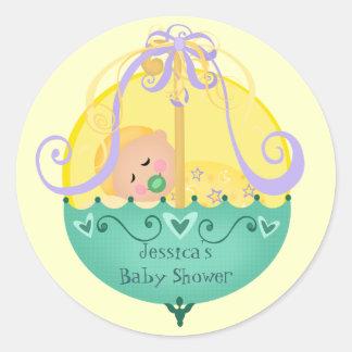 Baby shower de Nieuwe Stickers van het Baby