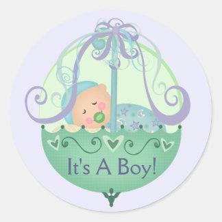 Baby shower/de Nieuwe Stijl van de Stickers van