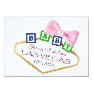 Baby shower in de Uitnodiging van het MEISJE van